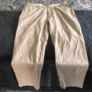 Men's polo khaki pants